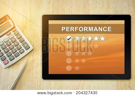 excellent five stars performance on tablet with soft light vintage effect