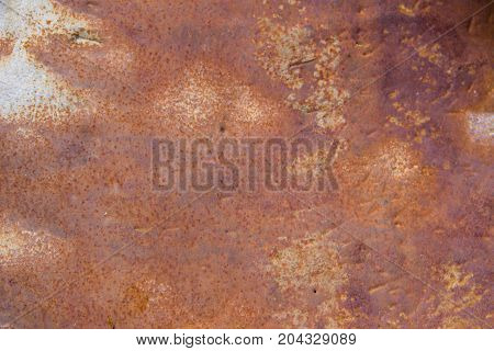 Old rusty metal texture. Grunge abstract background
