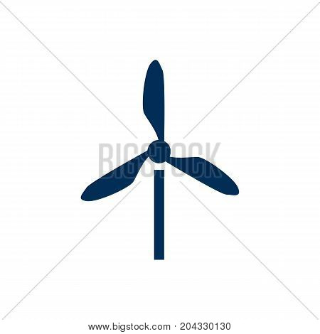 Isolated Electric Mill Icon Symbol On Clean Background