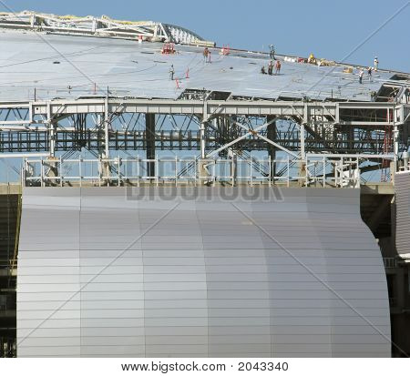 Stadium Roof And Side Construction
