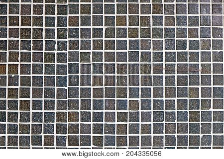 A nice background from grey mosaic tiles