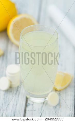 Vitamin C Tablets, Selective Focus