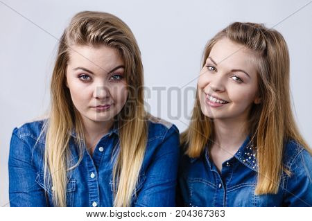 Woman Being Sad Her Friend Comforting Her