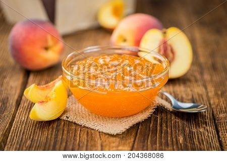 Fresh Made Peach Jam