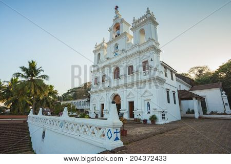 Our Lady Of Immaculate Conception Church In Panjim