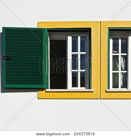 The open windows of the Portuguese House
