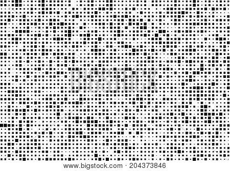 Dark Texture Pixels. Pixel Abstract Mosaic Design Background