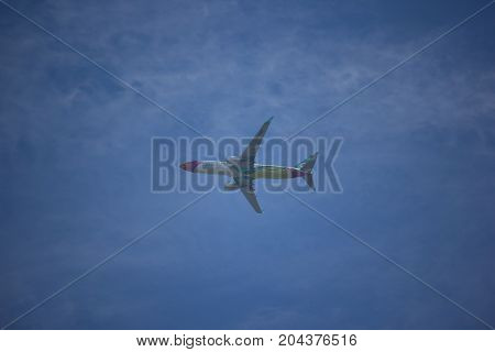 Hs-dbq Boeing 737-800 Of Nokair .