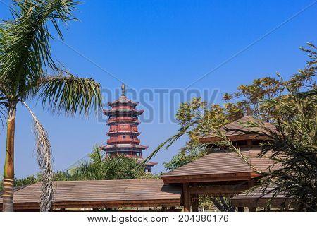 Xinglin Pavilion In Garden Expo