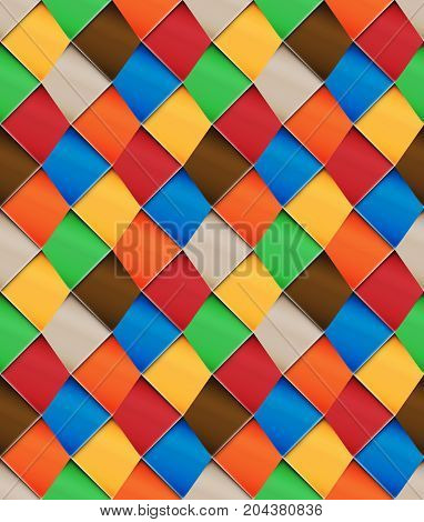 Patchwork Motley Seamless Pattern