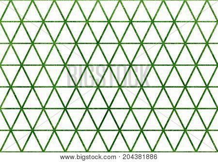 Watercolor Triangle Pattern.