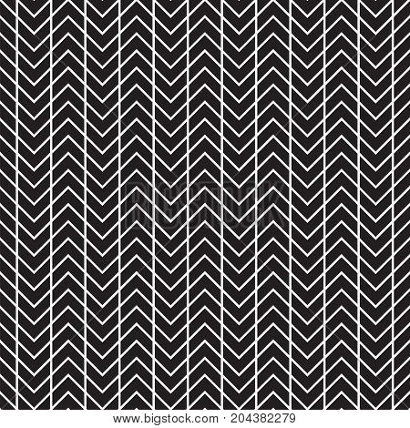 Seamless Abstract Geometric Chevron Herringbone Pattern Texture