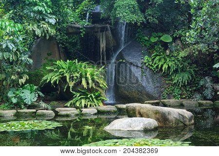 Silky Waterfall, Xiamen China