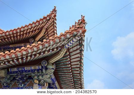 Ancient Chinese Architecture, Temple