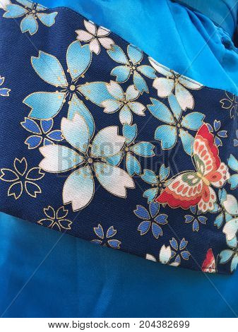Chinese Clothing Fabric Texture Background