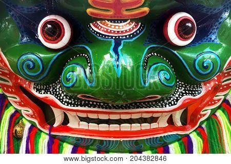 Chinese Opera Character Mask