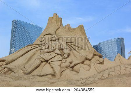 Sand Sculpture, Monkey King