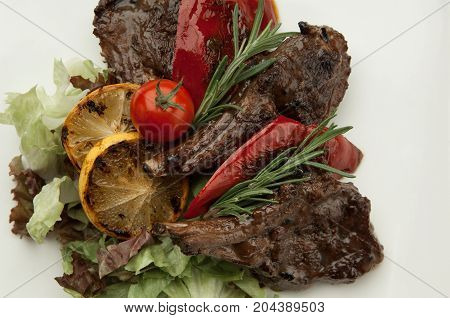 Meat Dish Close Up