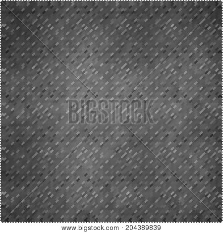 banner gray squares . poster grey rectangles. abstract background pattern. monochrome grunge texture. halftone effect. vector illustration