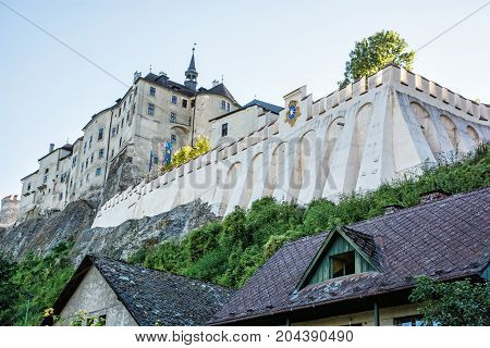 Cesky Sternberk is a Bohemian castle of the mid-13th century located within the village with the same name of the Central Bohemian region in Czech republic.