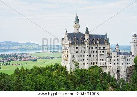The most famous fairy tale castle in the world,