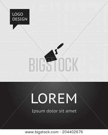Vector Illustration Of Instrument Symbol On Spatula Icon