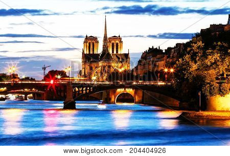 The Notre Dame is historic Catholic cathedral, one of the most visited monuments in Paris, considered as one of the finest examples of French Gothic architecture.