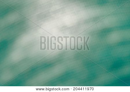 The Blurred Green And White Background With Hexagon White Light