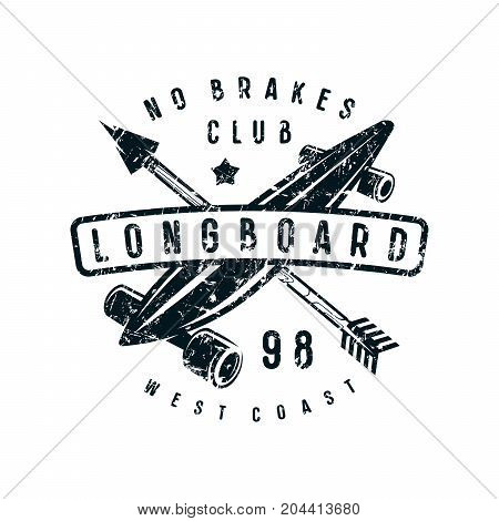 Emblem Of Longboard Club
