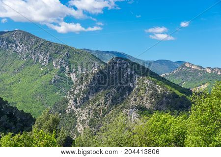 Mountains of Regional nature park of the Azure PreAlps France