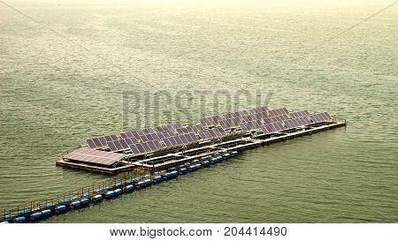 solar energy on catchment Thailand , energy