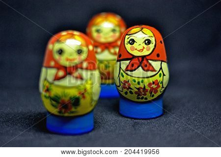 Russian doll,  matroska,  Doll, russian doll typical