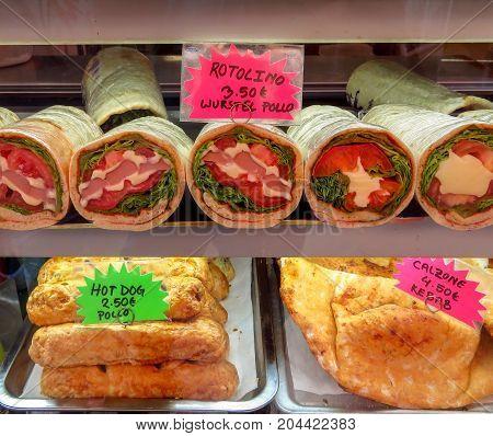 Venice - Stuffed Sandwiches