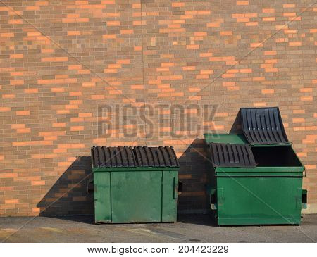 Green Recycling Dumpsters