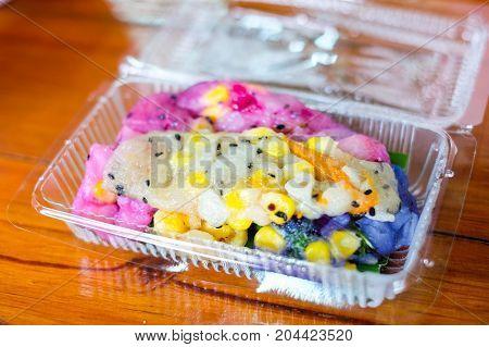 Soft rice flour pancake roll (Soft golden roll or
