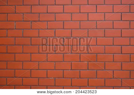 The modern vintage brick wall for texture or background.