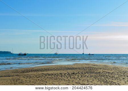 Bang Tao Beach On Phuket Island, Thailand