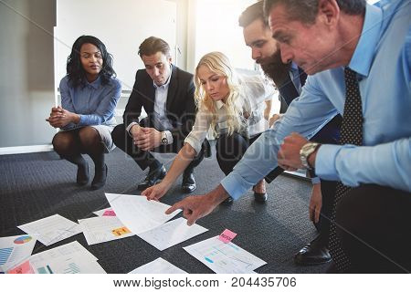 Diverse Business Team Brainstorming