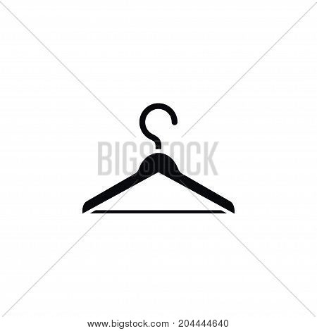 Hanger Vector Element Can Be Used For Hanger, Wardrobe, Hook Design Concept.  Isolated Wardrobe Icon.