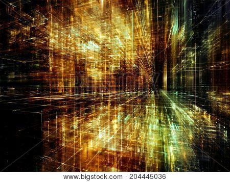 Glow Of Virtual World