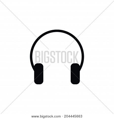 Earmuff Vector Element Can Be Used For Gadget, Listen, Headphone Design Concept.  Isolated Listen Icon.