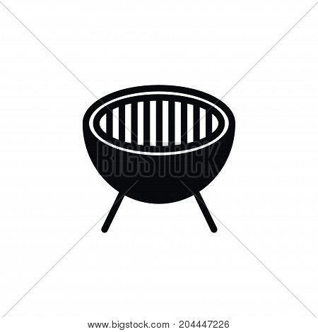 Cooked Vector Element Can Be Used For Cooked, Bbq, Barbecue Design Concept.  Isolated Roast Icon.