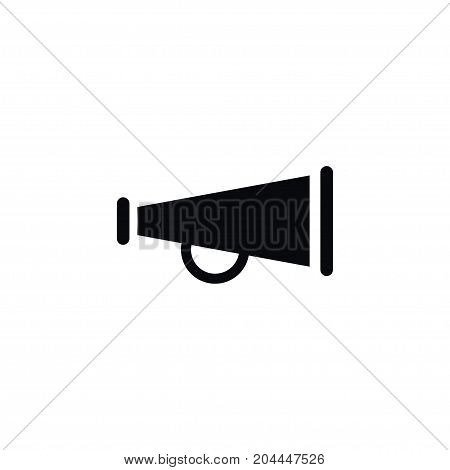 Alert Vector Element Can Be Used For Bullhorn, Alert, Megaphone Design Concept.  Isolated Bullhorn Icon.