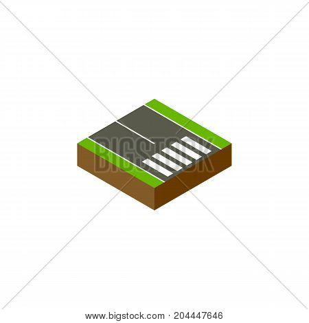 Pedestrian  Vector Element Can Be Used For Strip, Pedestrian, Road Design Concept.  Isolated Footpassenger Isometric.
