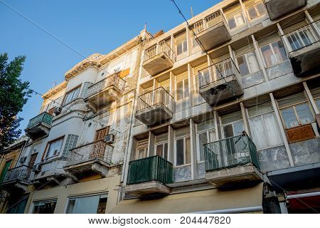 A Residential House With Balconies In  Ledras Walking Street, Nicosia City Centre