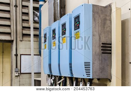 Industrial electricity inverters used in a factorycontrolercontrol panel