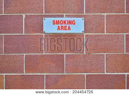 No Smoking Sign On A Wall