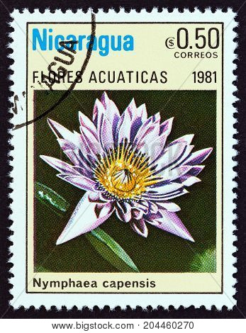 NICARAGUA - CIRCA 1981: A stamp printed in Nicaragua from the