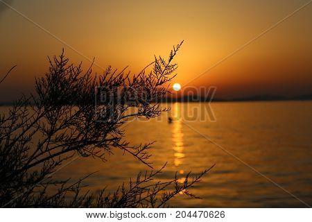 Adriatic Sunset Summer / Sunset in Croatia, Adriatic