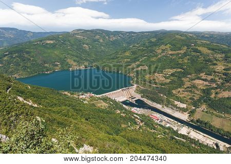 Hydroelectric power station Perucac, National park Tara, Serbia